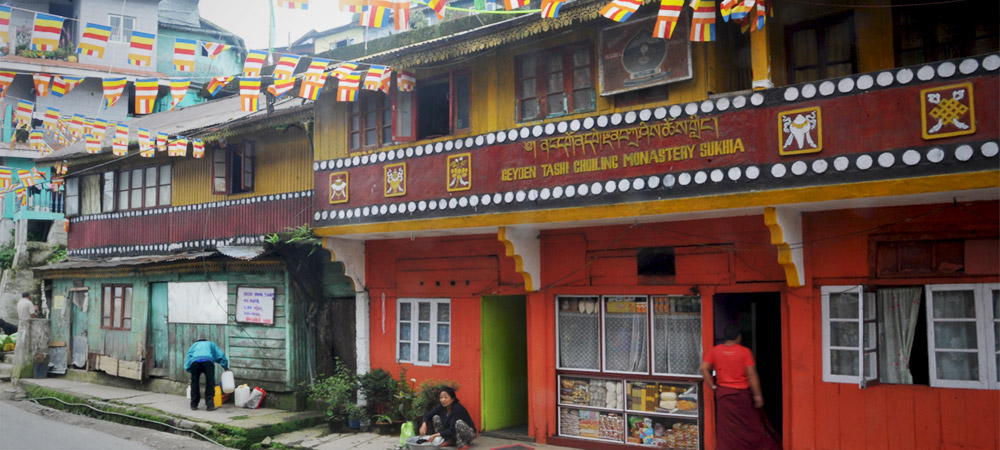 The Happy Monks of Darjeeling