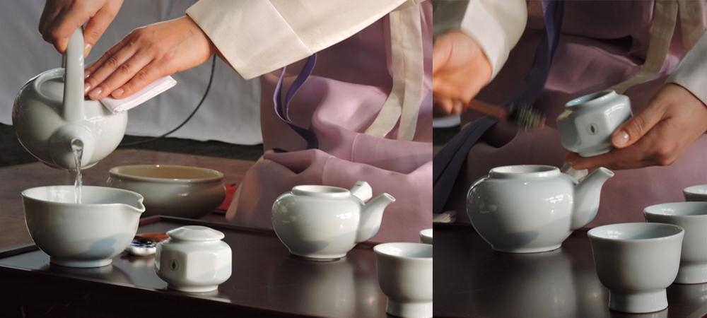 Darye, the Korean tea ceremony