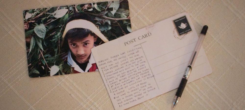 A postcard from Darjeeling