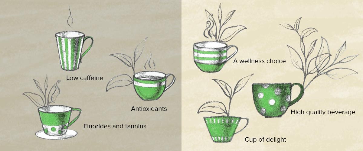 Tea vs health, weigh the evidence