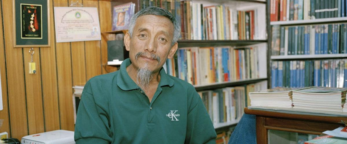 Lhasang Tsering and Bookworm