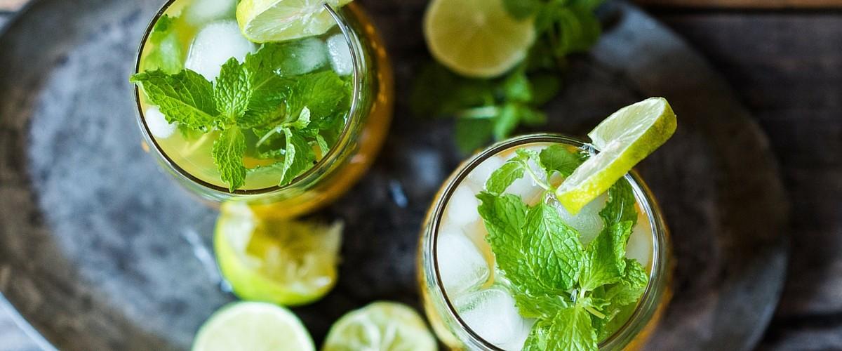 Mango Green Tea Mojito