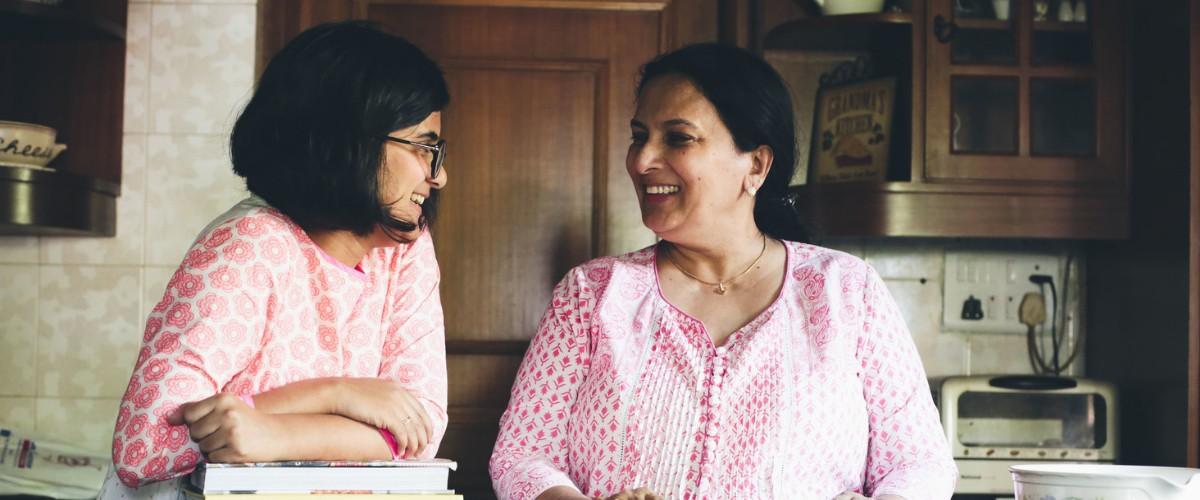 Aysha and Khatija, The Malabar Tea Room