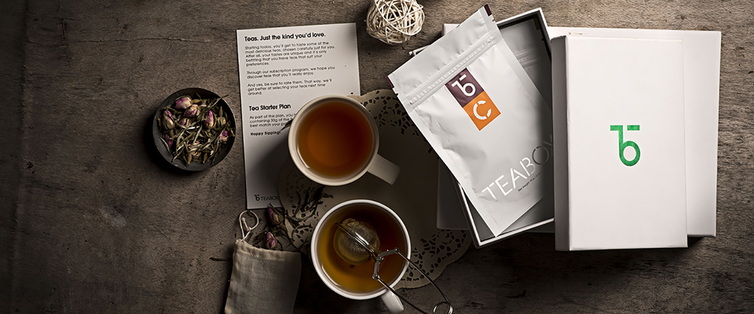 Teabox tea samples