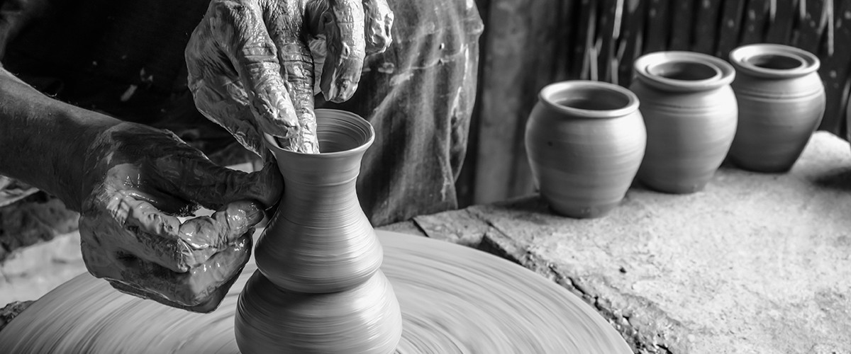 The potter of Kutch