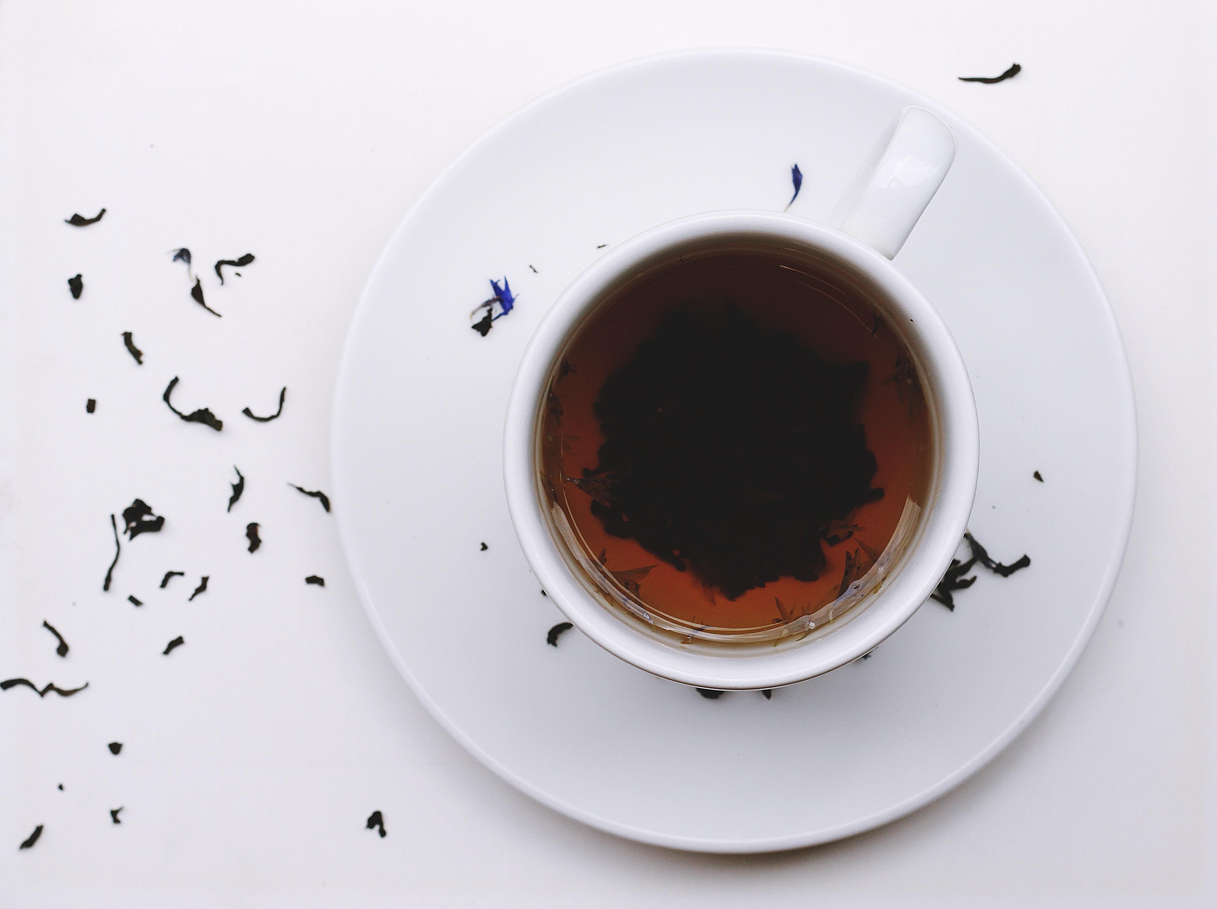 SImple teawares make for better reading (Image credit: Toa Heftiba