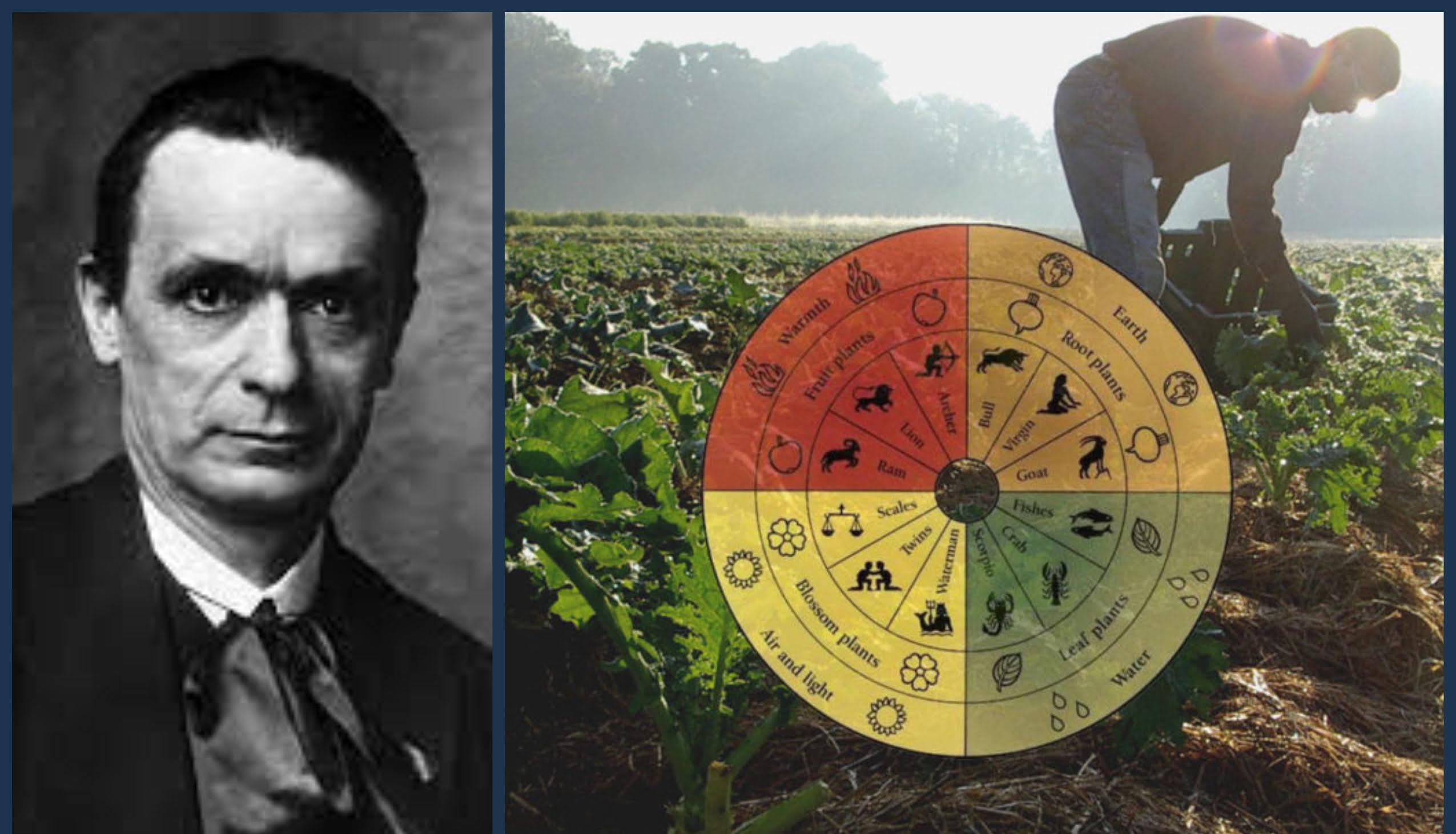 Rudolf Steiner and his fundamental approach to bio-dynamic farming